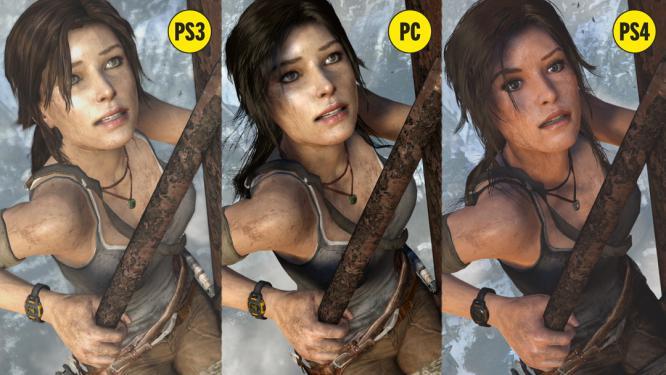 Tomb Raider 2013 Vanilla Lara Vs Definitive Edition Lara Neogaf
