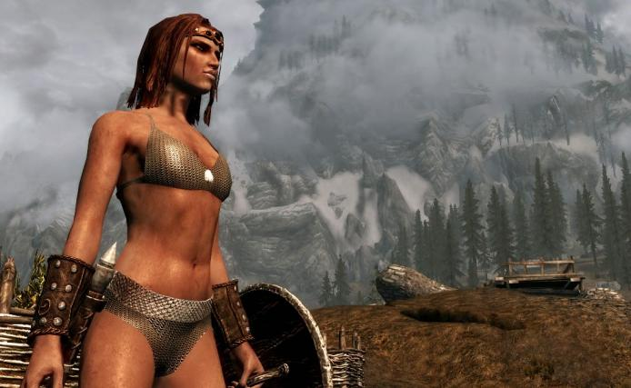 Here's what Skyrim looks like with this mod.