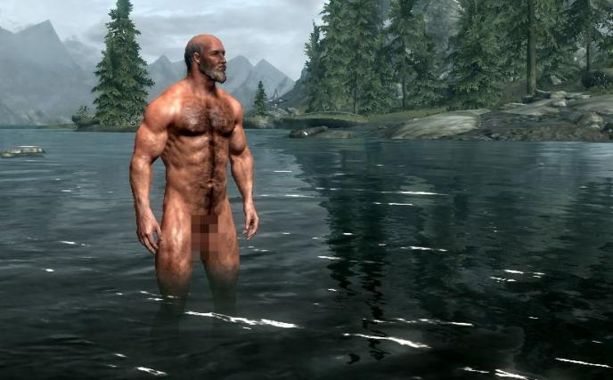 Ladies, prepare for some nude action in Skyrim.