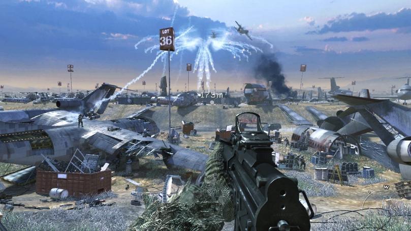call of duty modern warfare 3 guns. call of duty 8 modern warfare