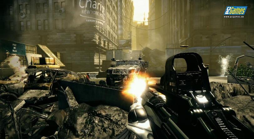 Crysis 2: Bildervergleich mit Crysis als Wallpaper - Update: