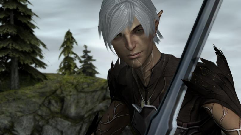 [19/12/10] Dragon Age 2-Begleiter Fenris. Bild in Originalgröße