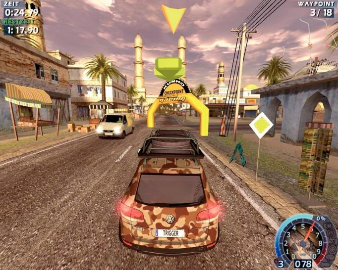 Screenshot aus World Racing 2