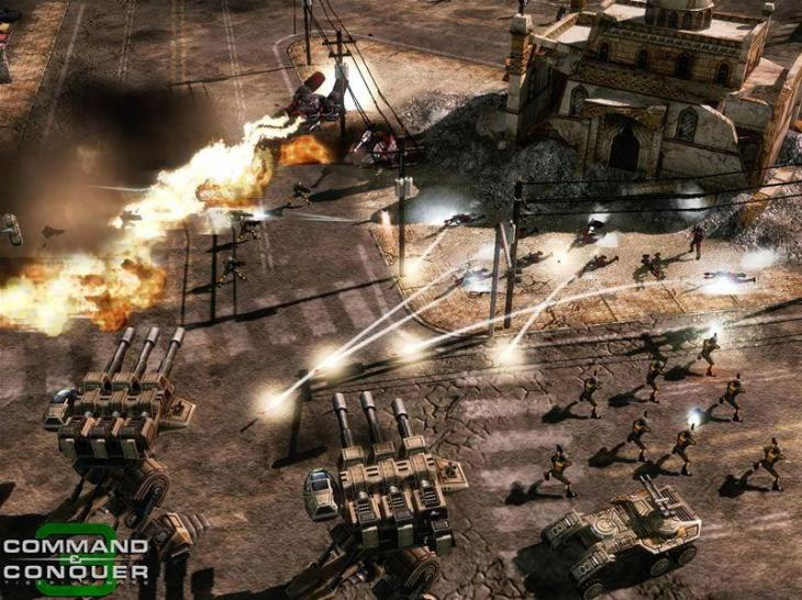 Hier zeigen wir euch Screenshots aus Command and Conquer 3: Tiberium Wars.  (1)