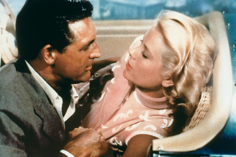 Cary Grant und Grace Kelly