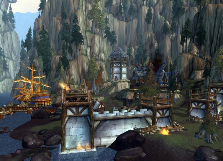 Screenshots aus World of Warcraft.