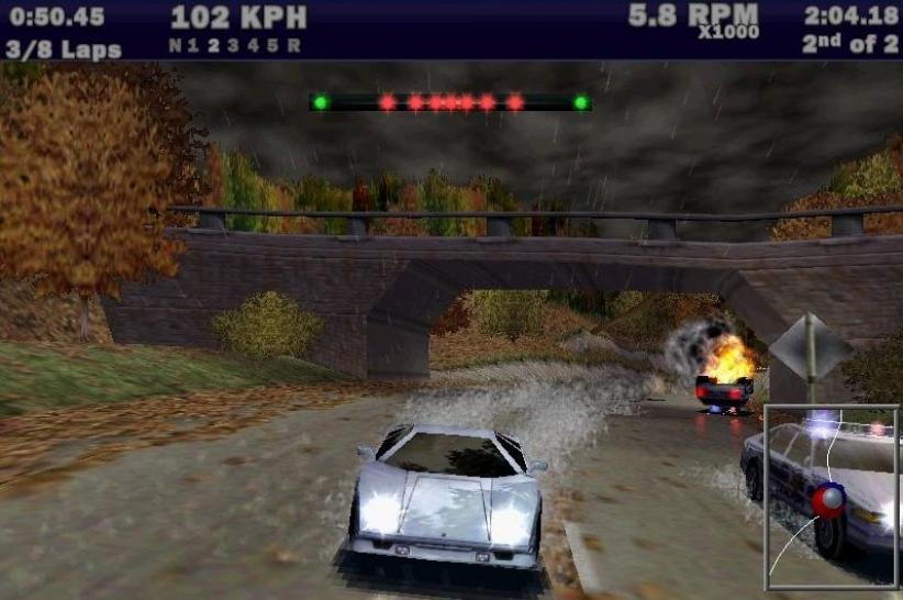Need for Speed 3: Hot Pursuit, 1998