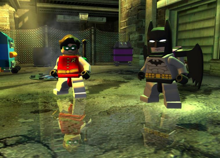 Screenshots aus LEGO Batman.