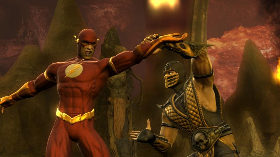 Screenshot aus Mortal Kombat vs. DC Universe
