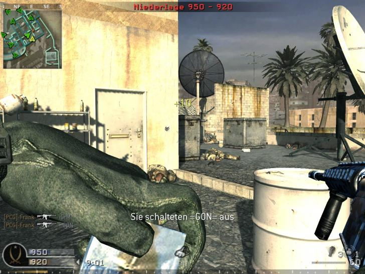 Screenshots aus Call of Duty 4: Modern Warfare. (1)