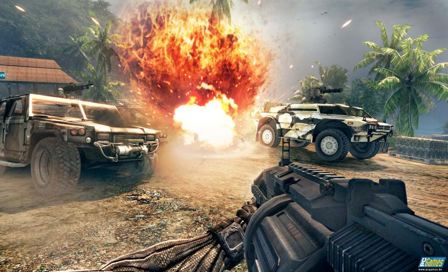 Screenshot aus Crysis Warhead. (1)
