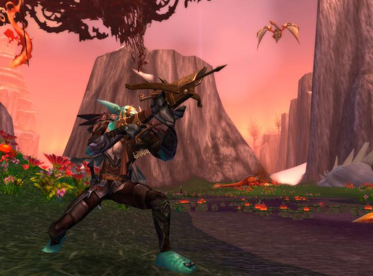Screenshots aus World of Warcraft: Wrath of the Lich King. (1)