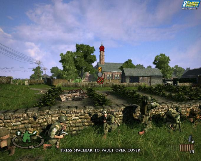Screenshots aus Brothers in Arms: Hell's Highway.