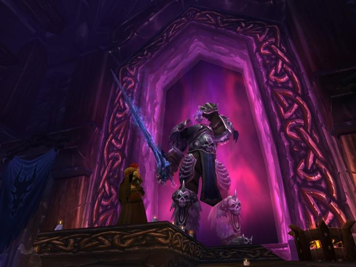 Screenshots aus World of Warcraft: Wrath of the Lich King.