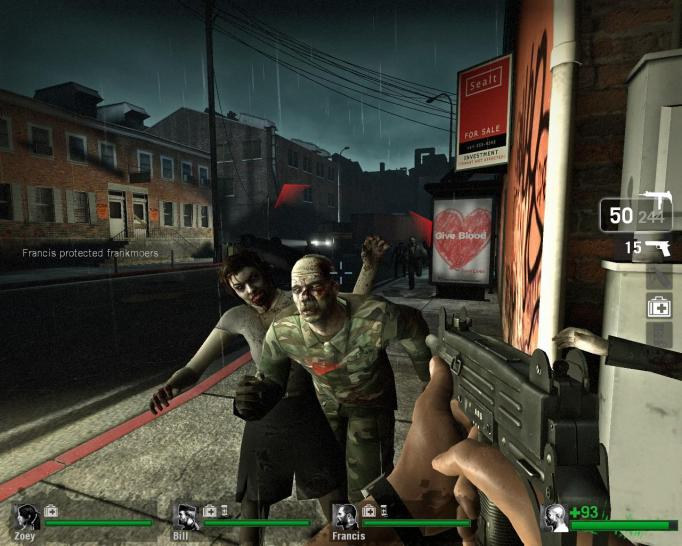 Screenshot aus Left 4 Dead (dt.) (2)