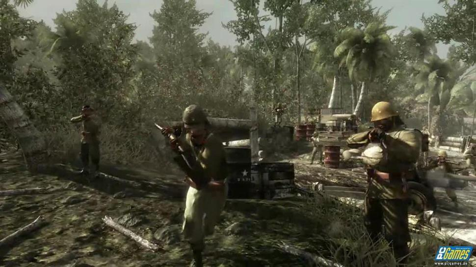 Screenshots zu Call of Duty: World at War.