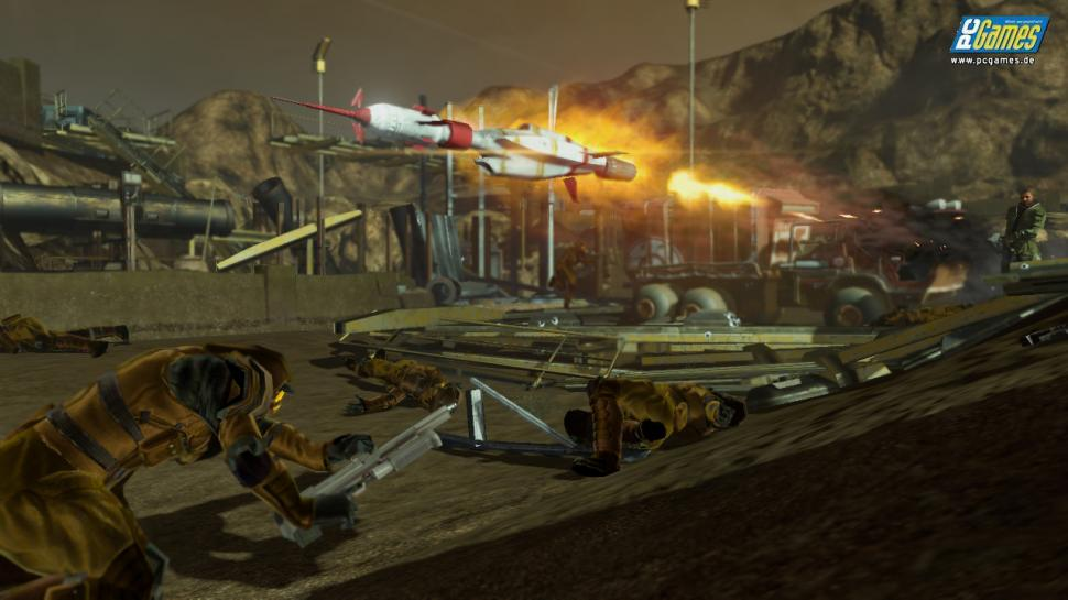 Screenshots aus Red Faction: Guerrilla.