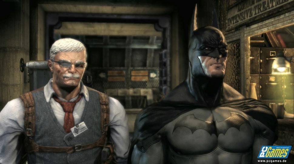 Screenshot aus Batman: Arkham Asylum. (1)