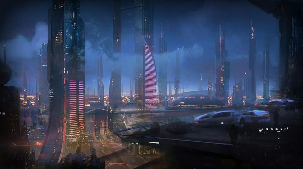 Ein Artwork aus Mass Effect 2.