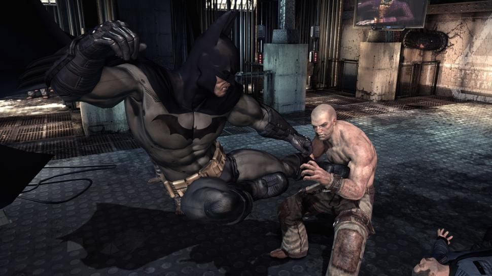 Screenshot zu Batman: Arkham Asylum.