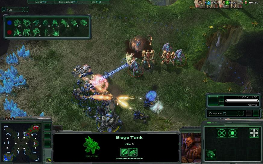 Screenshot zu Starcraft 2: Wings of Liberty (1)