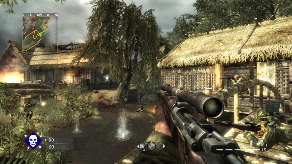 Call of Duty: World at War (dt.): Screenshots aus dem ...