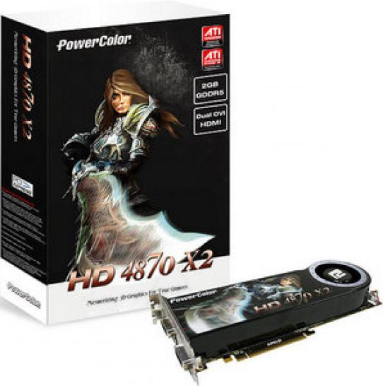 Hardware mit Eiern: Powercolor HD4870X2 2GB DDR5