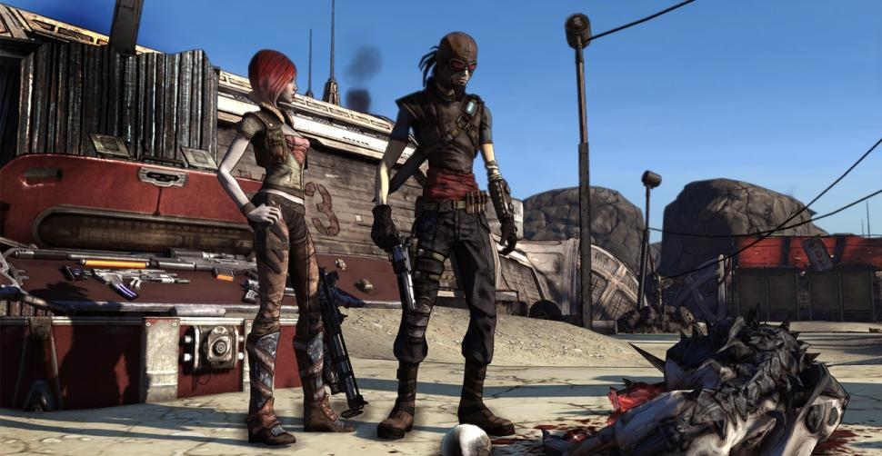 Screenshots aus Borderlands.