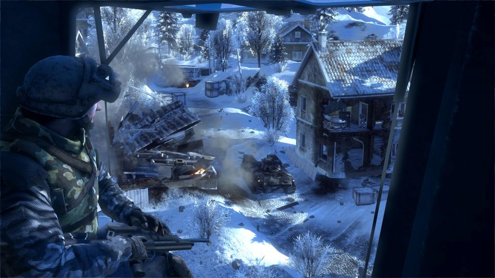 Screenshots aus Battlefield: Bad Company 2.