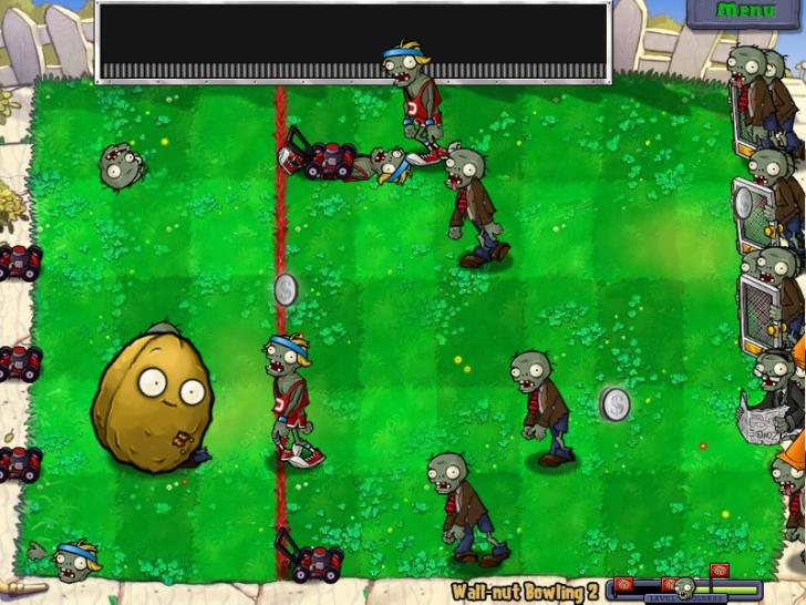 Screenshots aus Plants vs. Zombies. (1)