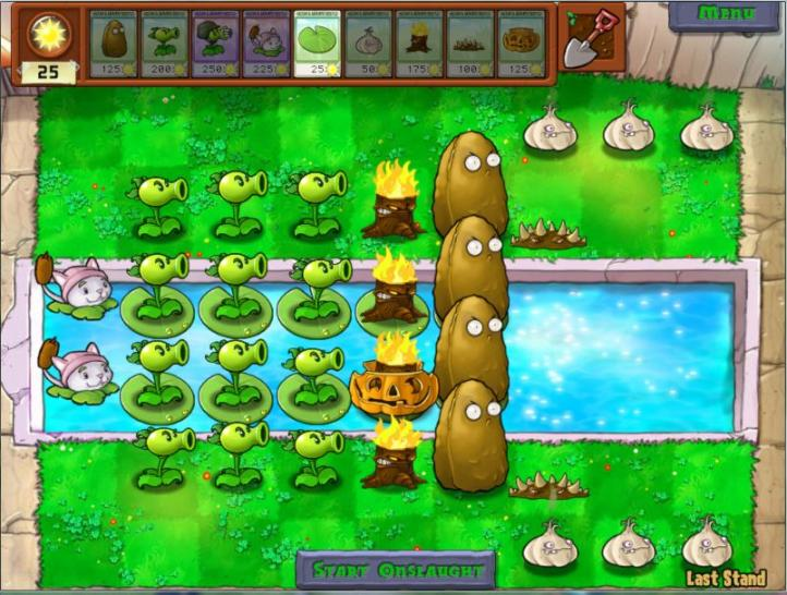 Plants vs. Zombies ist der diesjährige Gewinner der Kategorien 'Download Game of the Year' und 'Strategy Game of the Year' bei den 'Golden Joystick Awards' in London geworden. (1)