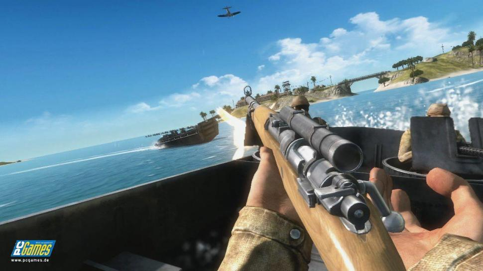 Screenshots zu Battlefield 1943.