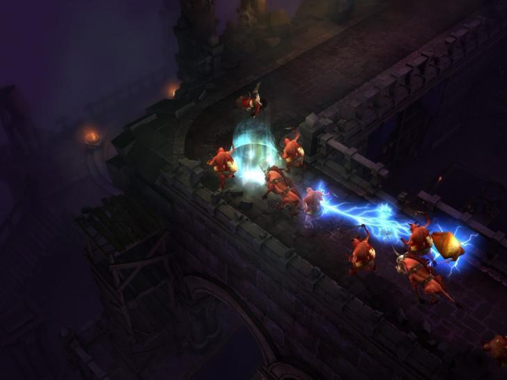 Screenshots aus Diablo 3.