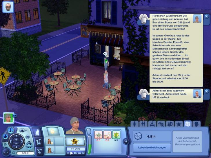 Massig Screenshots zu Die Sims 3. (1)
