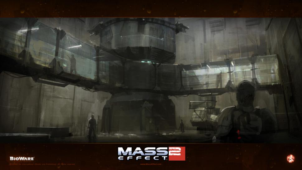 Wallpaper zu Mass Effect 2