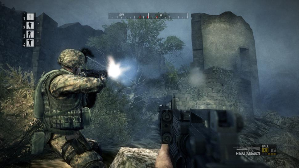 Bekannter Screenshot aus dem Hardcore-Modus von Operation Flashpoint: Dragon Rising. (1)