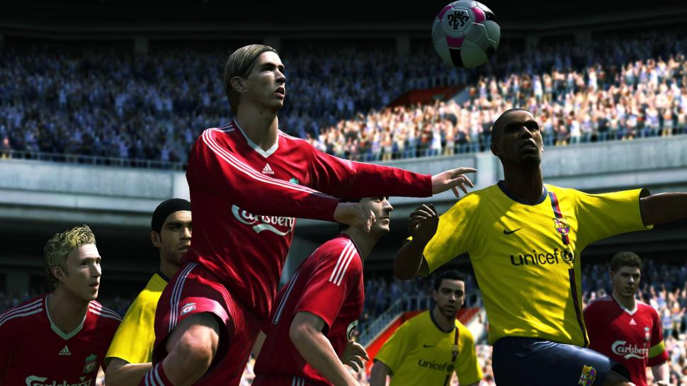 Screenshots aus PES 2010