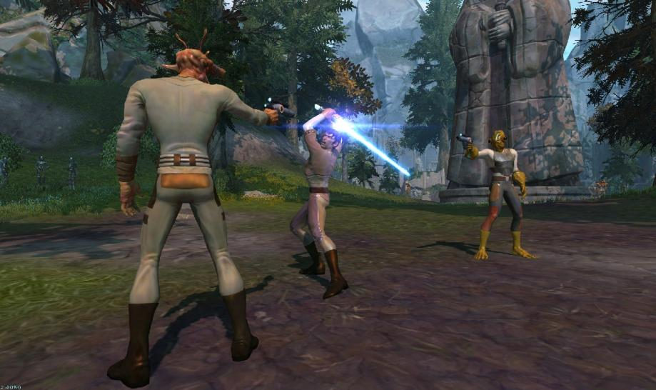 Screenshots zu Star Wars: The Old Republic.