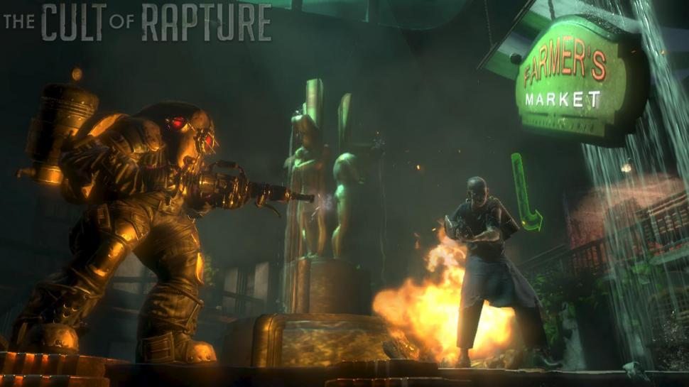 Screenshots aus Bioshock 2.