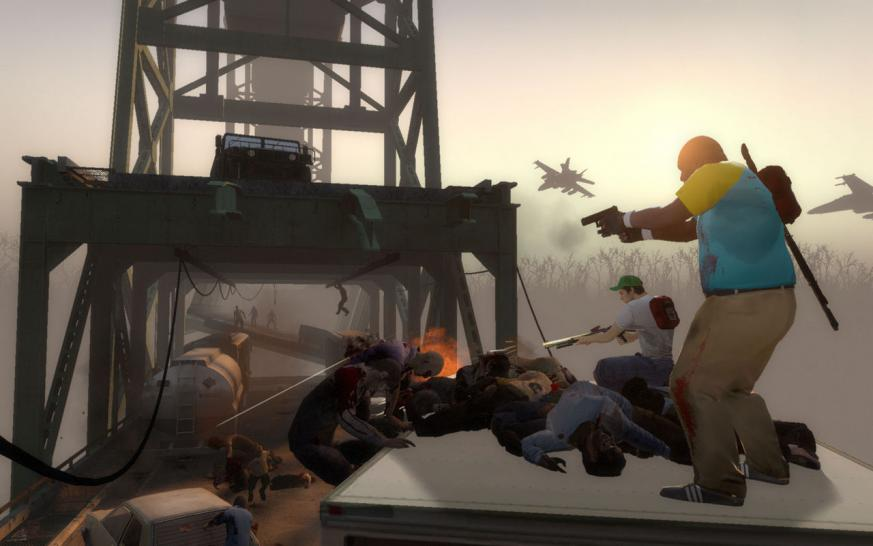 Screenshots aus Left 4 Dead 2.
