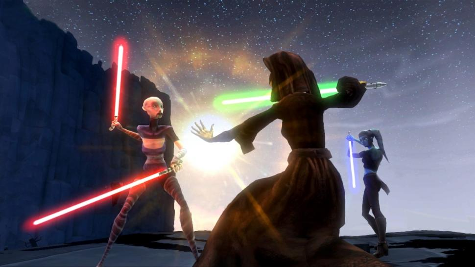 Einer der neuen Screenshots zu Star Wars: The Clone Wars - Republic Heroes.