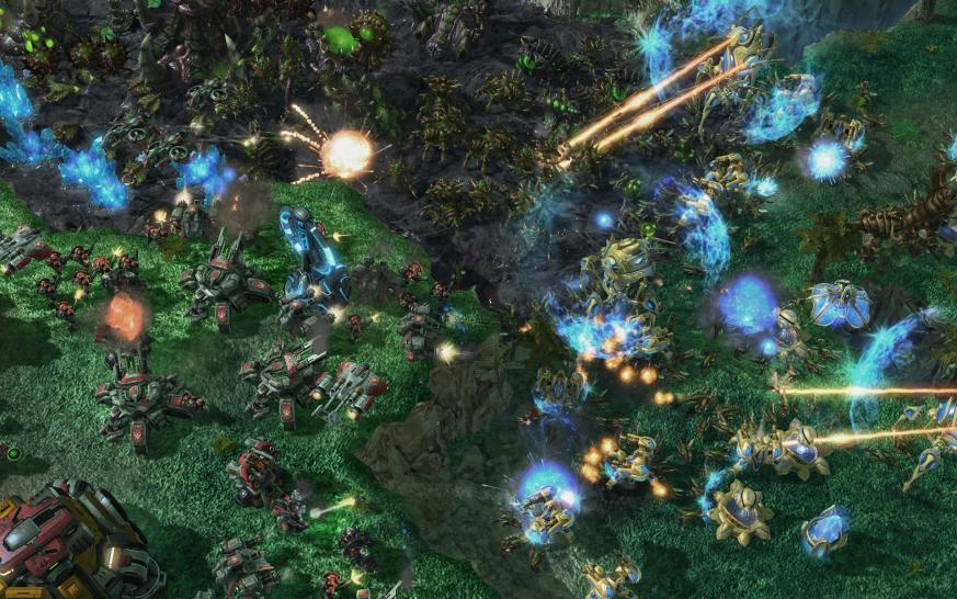 Screenshots aus Starcraft 2. (6)