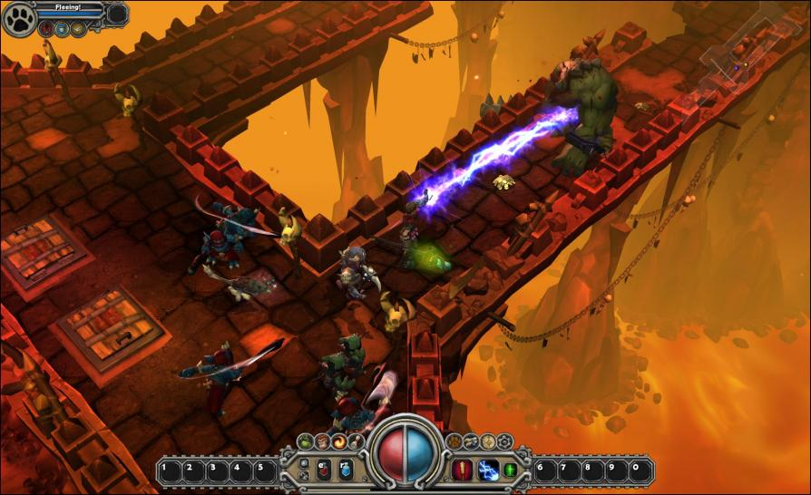 Screenshot zum Online-Actionrollenspiel Torchlight. (1)