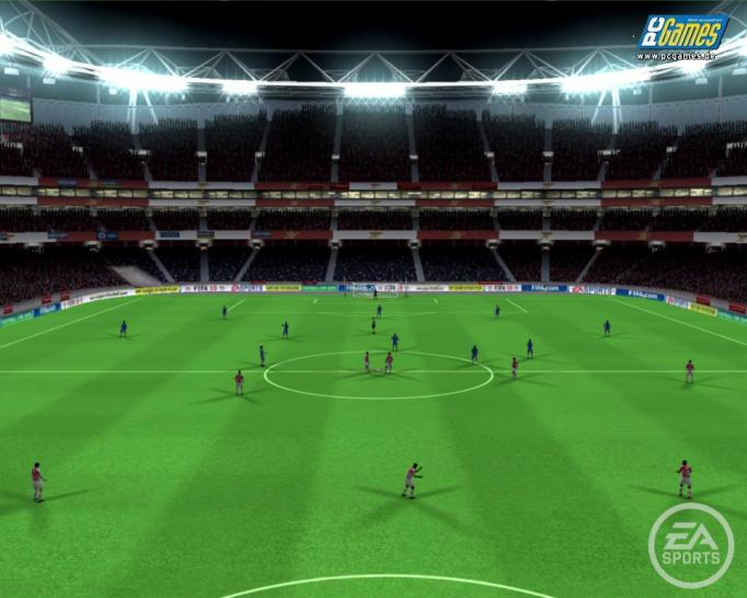 Screenshots aus FIFA 10.