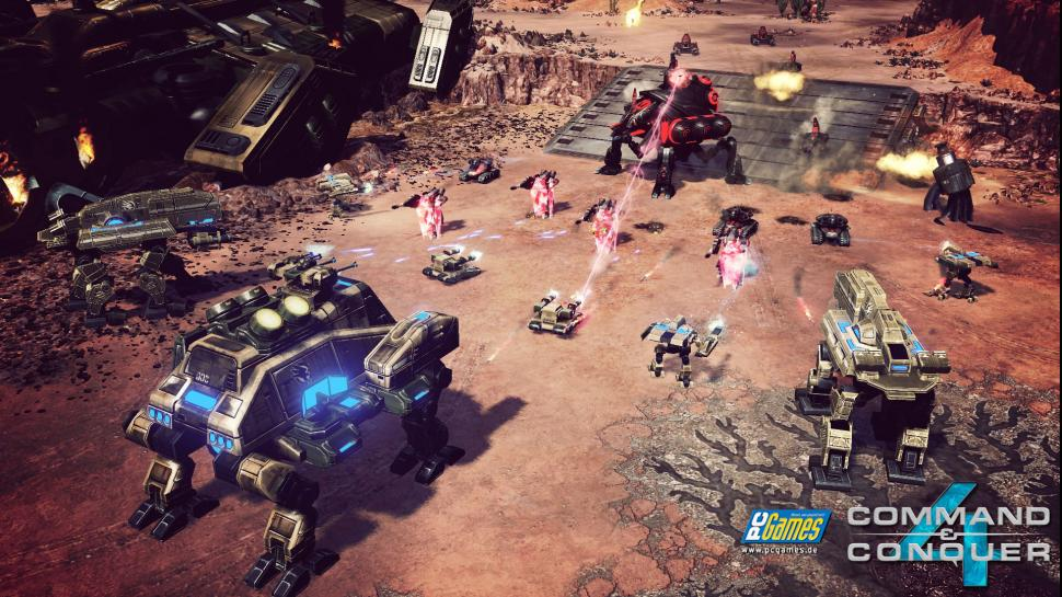 Screenshots zu Command & Conquer 4: Tiberian Twilight.