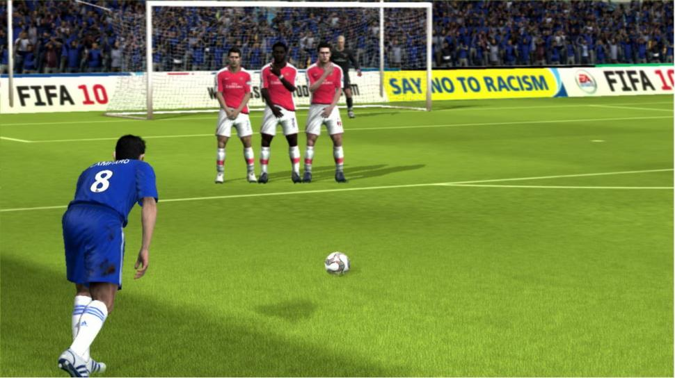 Screenshot aus der PC-Version von FIFA 10.