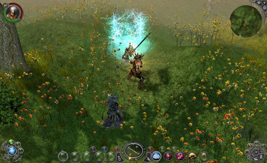 Screenshots aus Sacred 2: Ice & Blood.