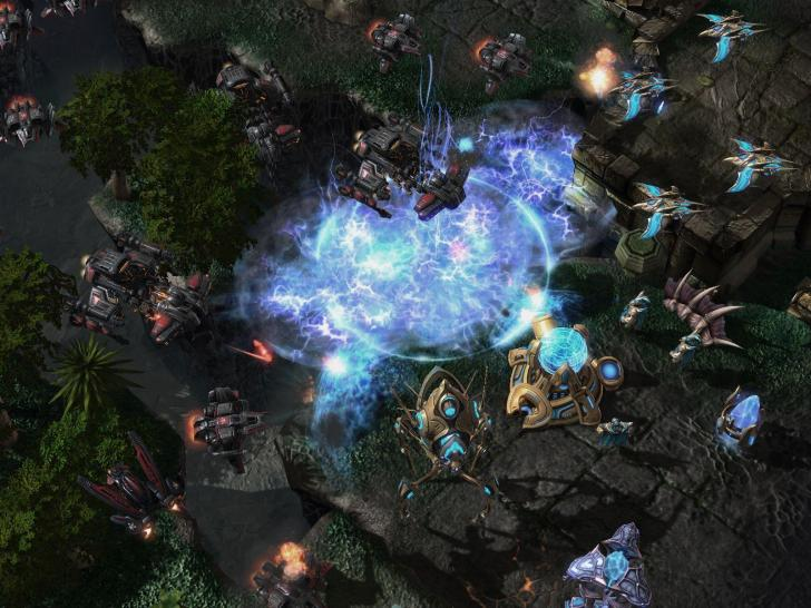 Die aktuellsten Screenshots aus Starcraft 2: Wings of Liberty.