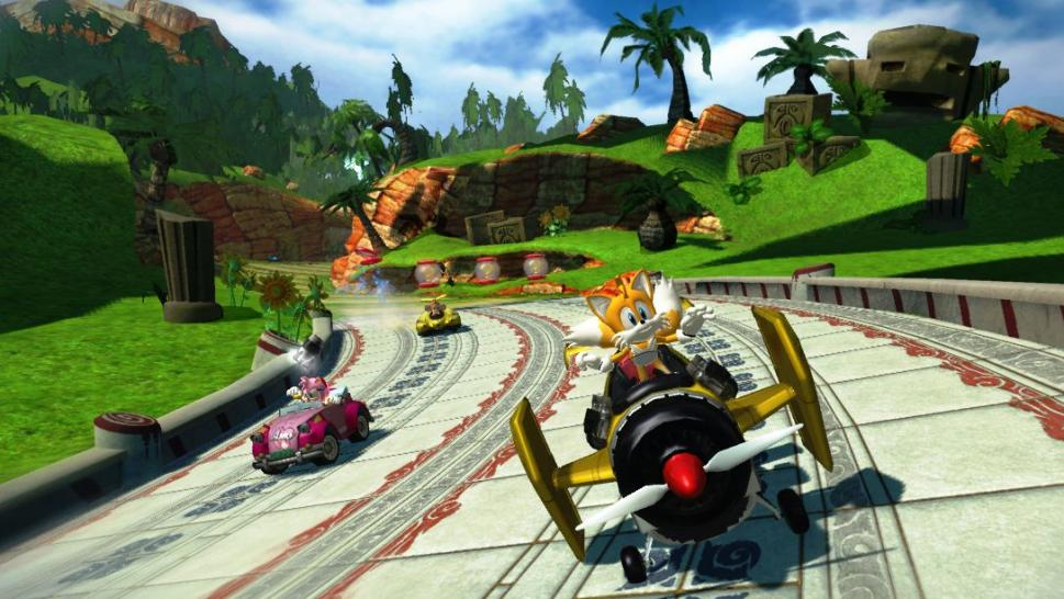 Platz 10: Sonic & Sega All-Star Racing