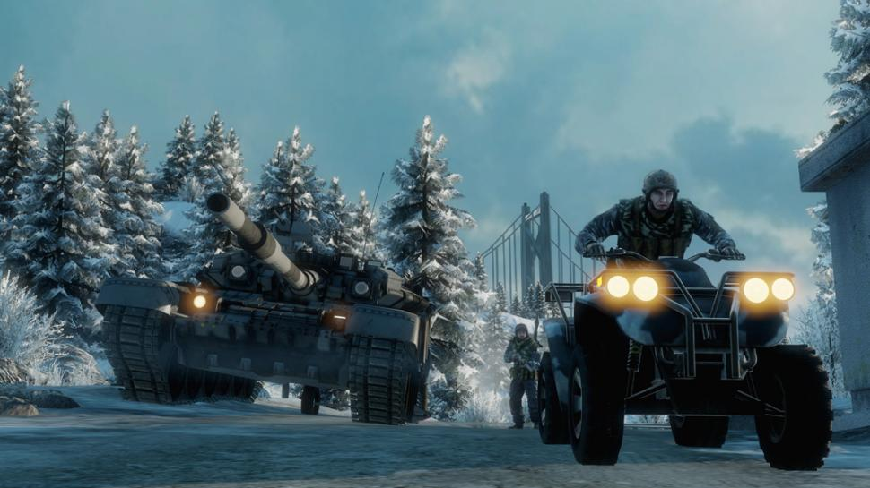 Screenshots aus Bad Company 2.